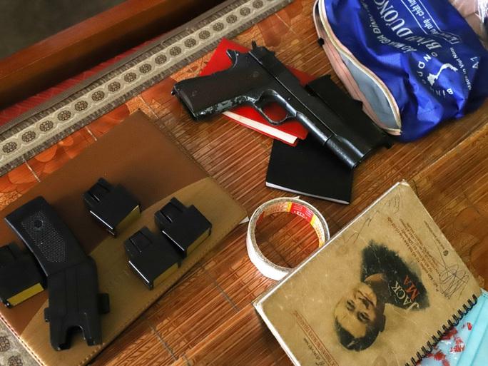"""Bắt nhóm chuyên""""bảo kê"""" trước nhà máy Formosa, thu nhiều súng, đạn - Ảnh 3."""