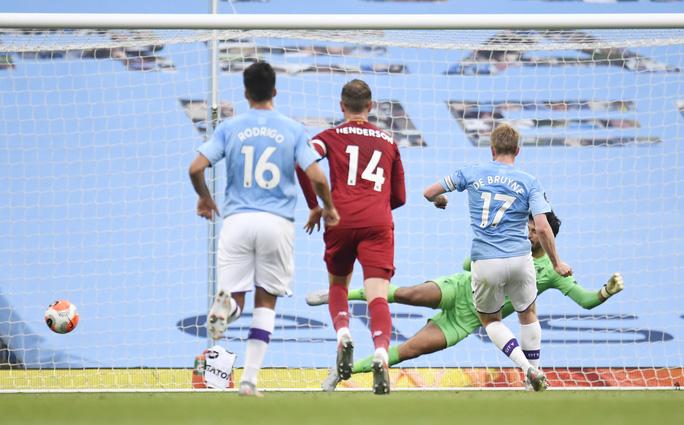 Vùi dập Liverpool, Man City cảnh báo tham vọng tân vương - Ảnh 3.