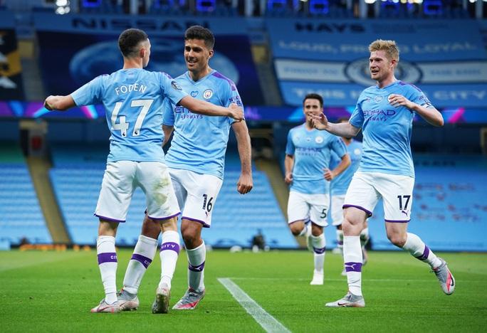 Vùi dập Liverpool, Man City cảnh báo tham vọng tân vương - Ảnh 7.