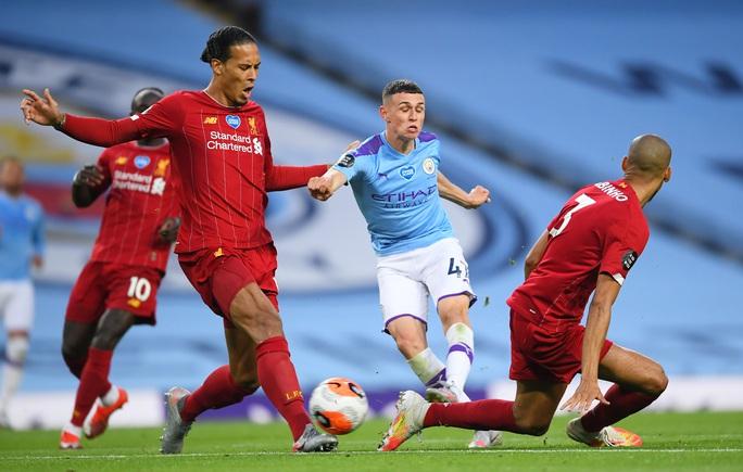 Vùi dập Liverpool, Man City cảnh báo tham vọng tân vương - Ảnh 5.