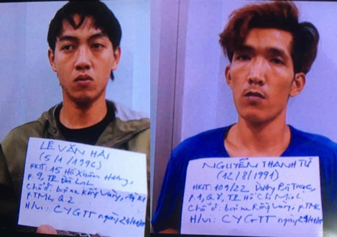 Lê Văn Hải và Nguyễn Thanh Tứ