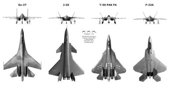 """Nhà thiết kế J-20 của Trung Quốc bàn về """"chim ăn thịt"""" F-22 của Mỹ - Ảnh 3."""