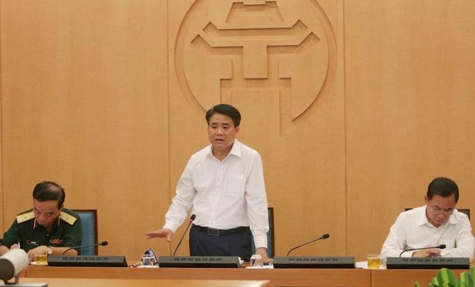 Chủ tịch Hà Nội Nguyễn Đức Chung: Dừng hoạt động karaoke, quán bar, trà đá vỉa hè - Ảnh 1.