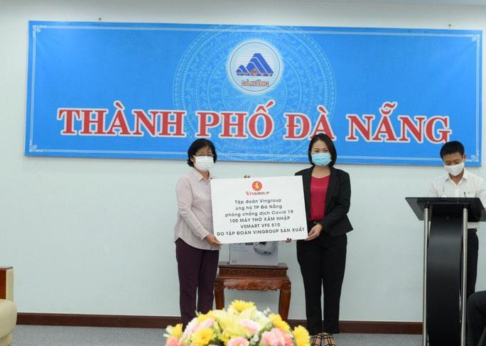 Tập đoàn Vingroup hỗ trợ Đà Nẵng 100 máy thở trong dịch Covid-19 - Ảnh 1.