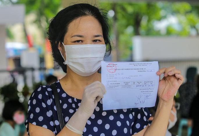 Hà Nội xét nghiệm nhanh Covid-19 cho người dân đi từ Đà Nẵng về - Ảnh 15.