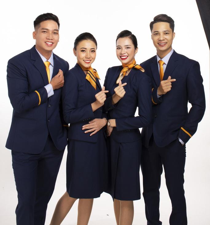 Pacific Airlines chính thức ra mắt đồng phục tiếp viên và bộ nhận diện thương hiệu mới - Ảnh 1.
