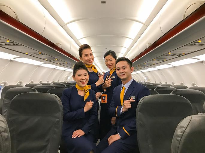 Pacific Airlines chính thức ra mắt đồng phục tiếp viên và bộ nhận diện thương hiệu mới - Ảnh 3.