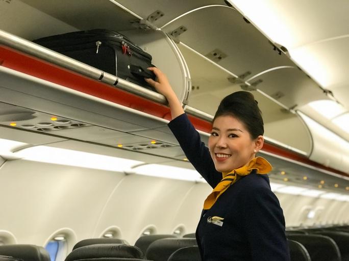 Pacific Airlines chính thức ra mắt đồng phục tiếp viên và bộ nhận diện thương hiệu mới - Ảnh 4.