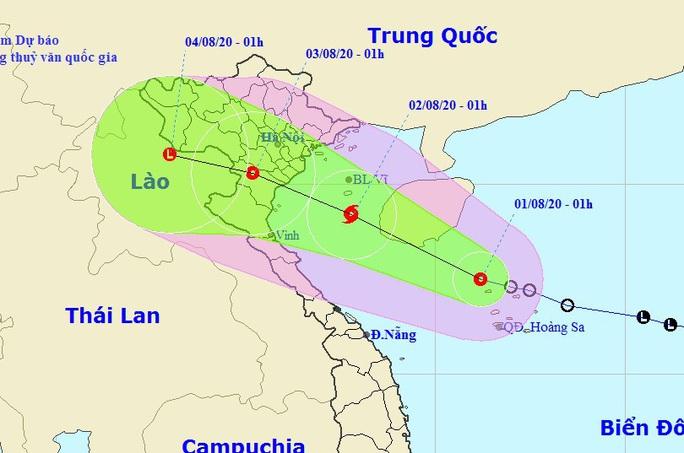 Áp thấp nhiệt đới khả năng mạnh lên thành bão, cả nước mưa dông - Ảnh 1.