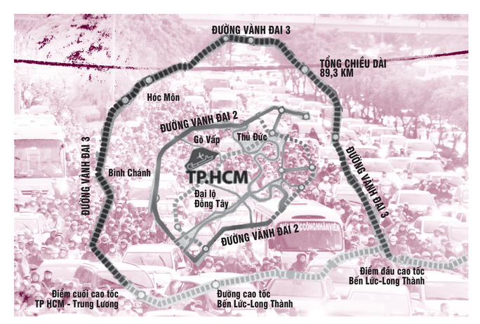 Cần 904.000 tỉ đồng phát triển giao thông TP HCM - Ảnh 2.