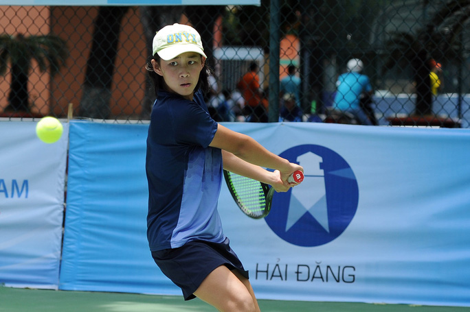 Hồng Hạnh: Tài năng sáng giá của quần vợt nữ Việt Nam - Ảnh 1.