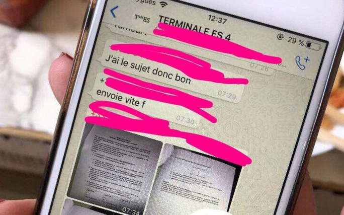 Lộ đề thi ngữ văn, học sinh lớp 9 tại TP Pleiku phải thi lại - Ảnh 1.