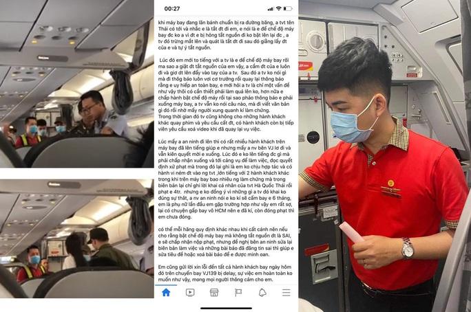 Tranh luận quanh việc cô gái ném điện thoại vào tiếp viên trưởng bị cấm bay 1 năm - Ảnh 1.
