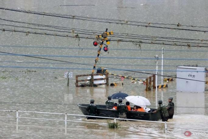 Trung Quốc: Mưa lớn không dứt, lũ lụt dồn dập, người chết gia tăng - Ảnh 5.