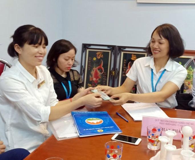 Hà Nội: 102 CNVC-LĐ vay vốn phát triển kinh tế gia đình - Ảnh 1.