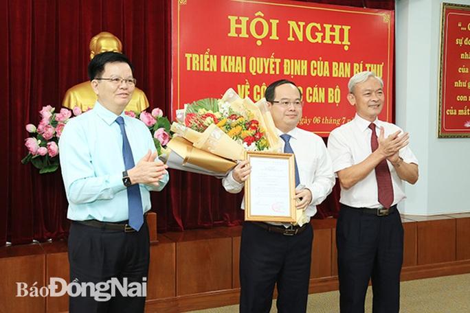 Phó trưởng Ban Tổ chức trung ương giữ chức Phó Bí thư Tỉnh ủy Đồng Nai - Ảnh 1.
