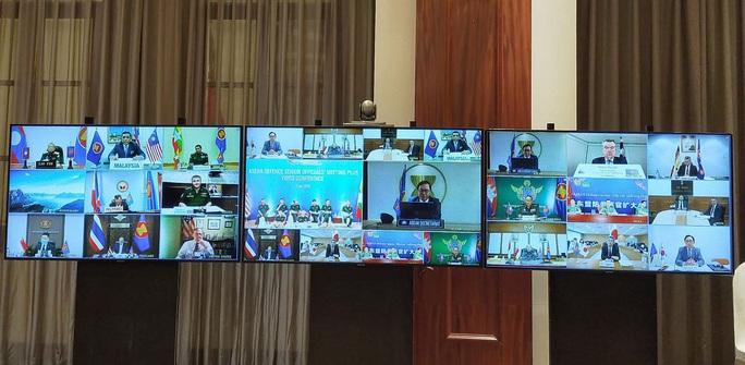 Đại tướng Ngô Xuân Lịch phát biểu tại Hội nghị Quan chức quốc phòng cấp cao ASEAN - Ảnh 7.