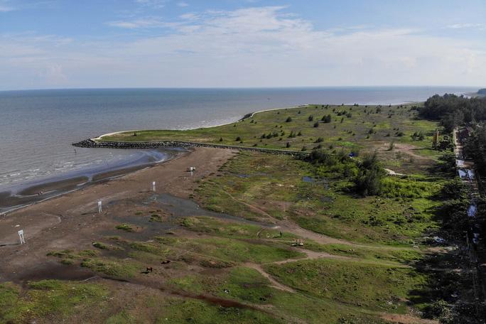 Hình ảnh cận cảnh dự án lấn biển Cần Giờ sau gần 13 năm - Ảnh 5.