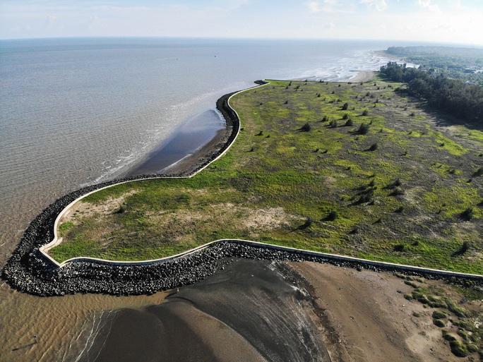 Hình ảnh cận cảnh dự án lấn biển Cần Giờ sau gần 13 năm - Ảnh 2.