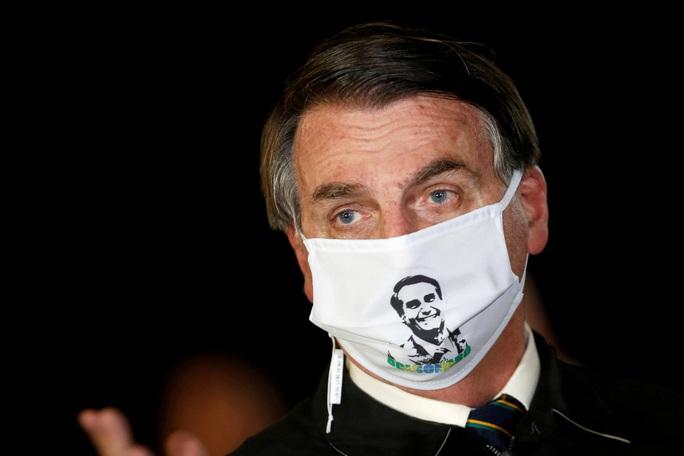 Tổng thống Brazil lên truyền hình thông báo nhiễm Covid-19 - Ảnh 1.