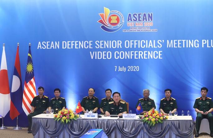 Đại tướng Ngô Xuân Lịch phát biểu tại Hội nghị Quan chức quốc phòng cấp cao ASEAN - Ảnh 2.