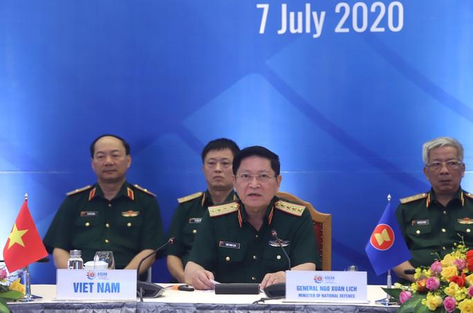 Đại tướng Ngô Xuân Lịch phát biểu tại Hội nghị Quan chức quốc phòng cấp cao ASEAN - Ảnh 1.