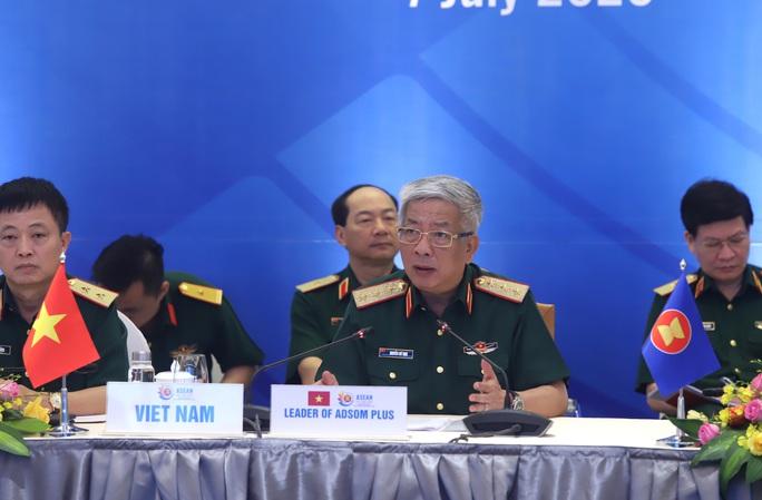 Đại tướng Ngô Xuân Lịch phát biểu tại Hội nghị Quan chức quốc phòng cấp cao ASEAN - Ảnh 3.