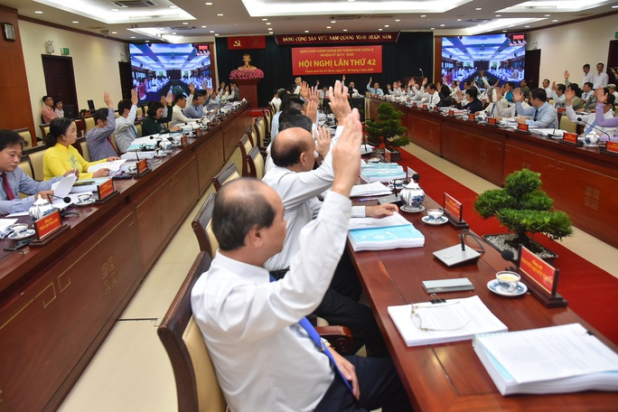 Khai mạc Hội nghị Thành ủy TP HCM lần thứ 42 - Ảnh 2.