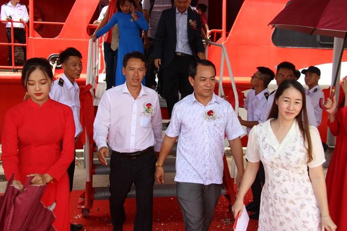 Đưa tàu 2 thân lớn nhất Việt Nam khai thác tuyến Cà Mau – Nam Du – Phú Quốc - Ảnh 4.