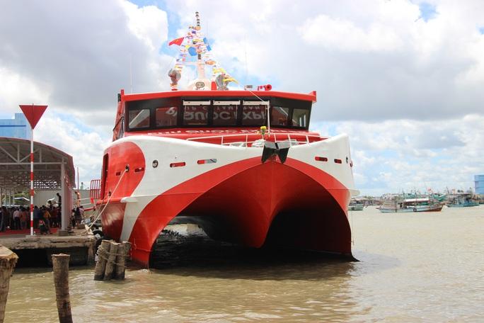 Đưa tàu 2 thân lớn nhất Việt Nam khai thác tuyến Cà Mau – Nam Du – Phú Quốc - Ảnh 6.