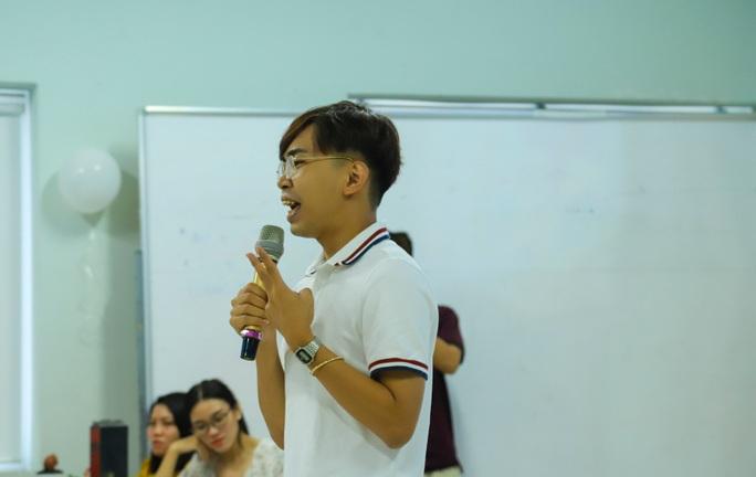 Diễn viên hài Minh Dự trợ giảng ở Trường Đại học Văn Hiến - Ảnh 1.