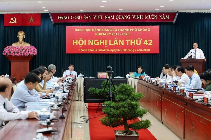 Bế mạc Hội nghị Thành ủy TP HCM lần thứ 42 - Ảnh 2.