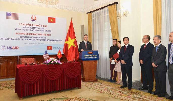 Mỹ hỗ trợ Việt Nam phân tích ADN xác định danh tính quân nhân - Ảnh 5.