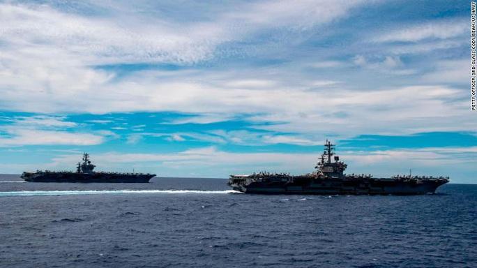 Điểm đặc biệt của cuộc tập trận Mỹ ở biển Đông - Ảnh 2.