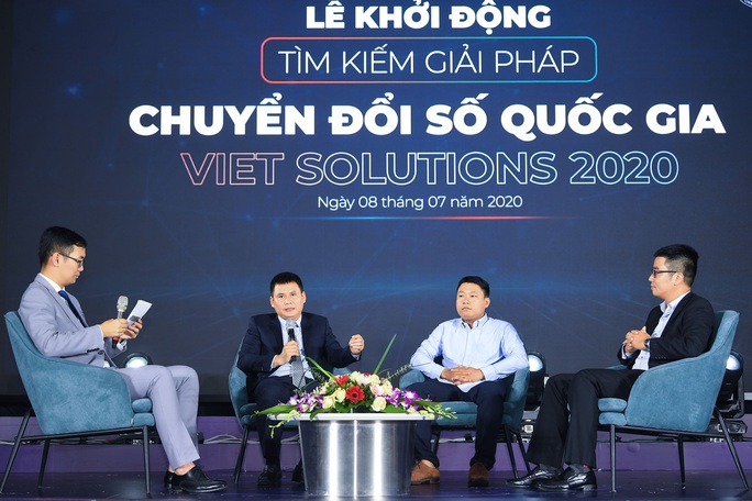 Khởi động cuộc thi tìm kiếm giải pháp chuyển đổi số Việt Nam - Viet Solutions - Ảnh 2.