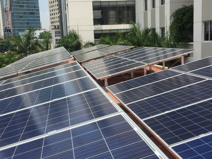 Kiến nghị bổ sung cơ chế cho điện mặt trời mái nhà tại khu công nghiệp - Ảnh 1.