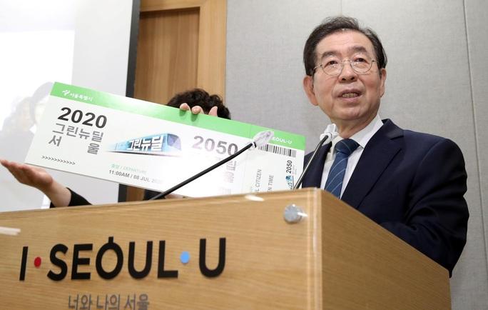 NÓNG: Thị trưởng Seoul tự tử sau khi bị tố quấy rối tình dục? - Ảnh 1.