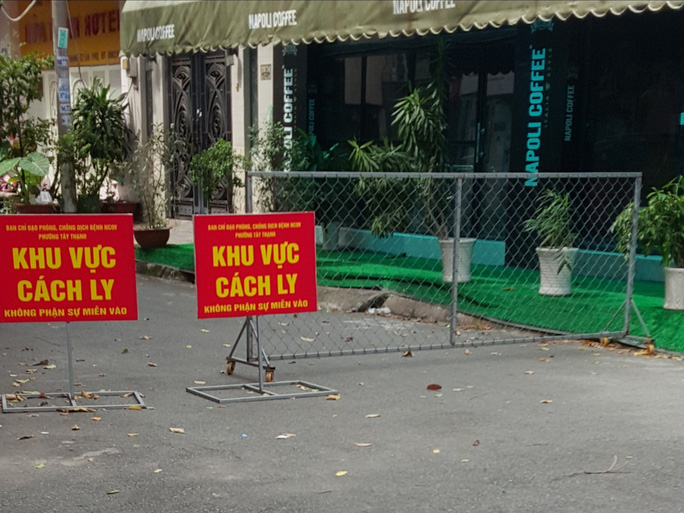 TP HCM: Phong tỏa một con hẻm ở quận Tân Phú vì có người nghi mắc Covid-19 - Ảnh 2.