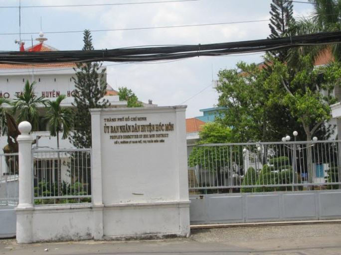 Thanh tra về quản lý đất đai tại UBND huyện Hóc Môn - Ảnh 1.