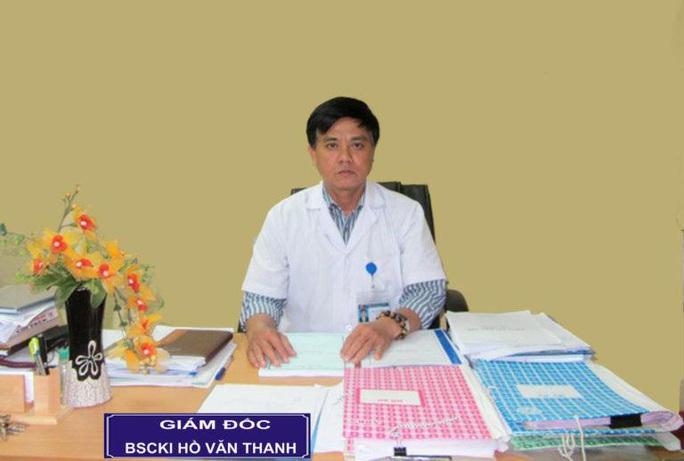 Cách hết chức vụ trong Đảng đối với Giám đốc Bệnh viện Sản - Nhi Phú Yên - Ảnh 1.