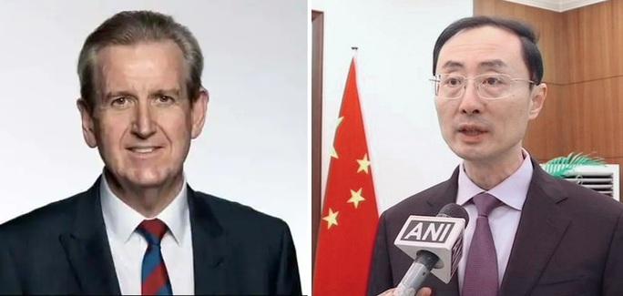 Nhà ngoại giao Trung Quốc và Úc tại Ấn Độ khẩu chiến vì biển Đông - Ảnh 1.