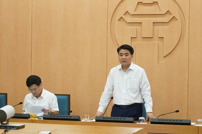 Chủ tịch TP Hà Nội Nguyễn Đức Chung: Không cách ly cả phường hay quận - Ảnh 1.
