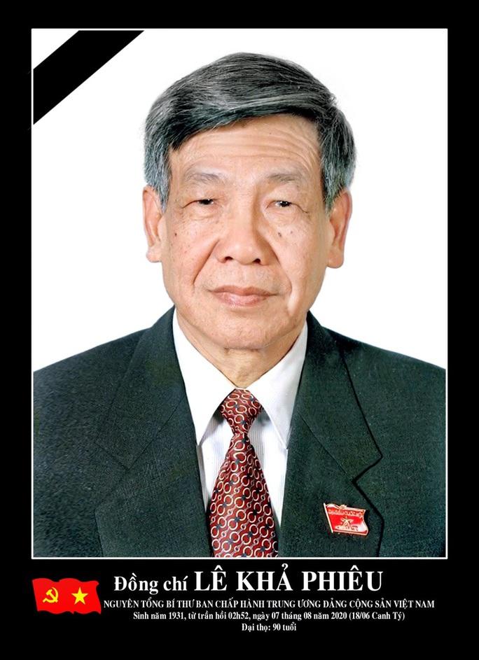 Lễ tang nguyên Tổng Bí thư Lê Khả Phiêu ở Thanh Hóa diễn ra tại hội trường 25B - Ảnh 1.