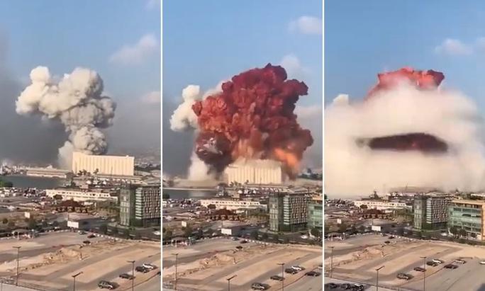 Vụ nổ Lebanon: Nhìn khói cam bốc lên, chuyên gia chất nổ nghi ngờ - Ảnh 1.