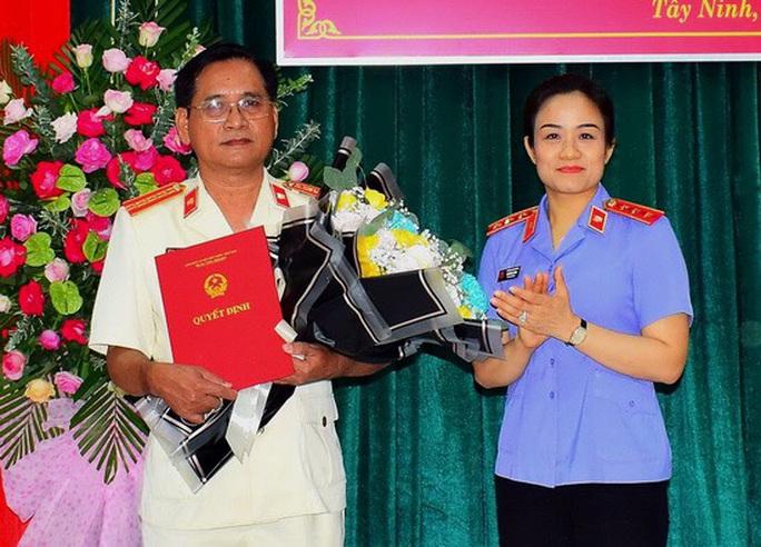 Ông Ngô Văn Hối làm Viện trưởng VKSND tỉnh Tây Ninh - Ảnh 1.