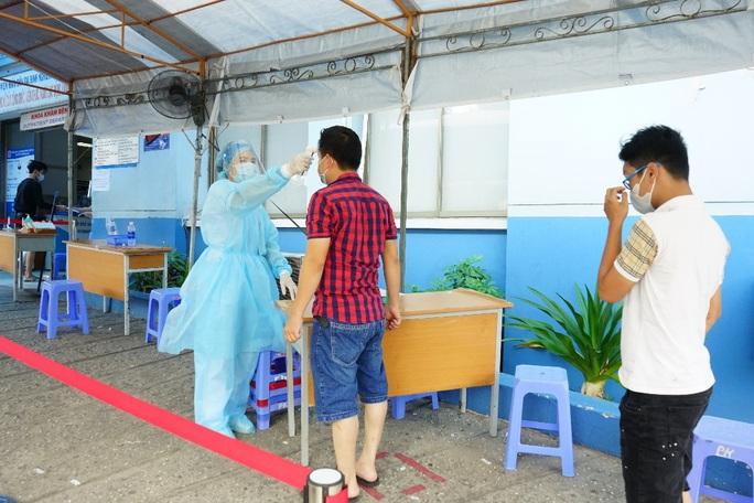 TP HCM công bố thêm hơn 3.300 xét nghiệm người về từ Đà Nẵng - Ảnh 1.