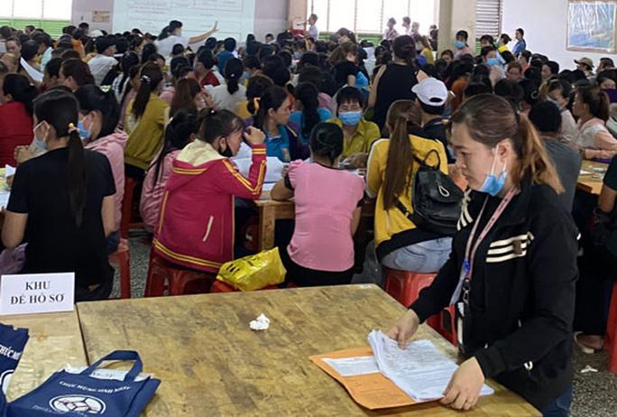 CÔNG TY TNHH POU YUEN VIỆT NAM: Hoàn tất chi trả chế độ cho công nhân mất việc - Ảnh 1.