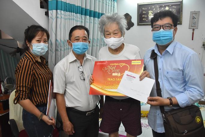Mai Vàng nhân ái đến với NSND Đinh Bằng Phi và quái kiệt Tòng Sơn - Ảnh 3.