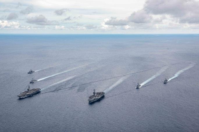 """Trung Quốc yêu cầu binh sĩ """"kiềm chế"""" với Mỹ trên biển Đông - Ảnh 1."""