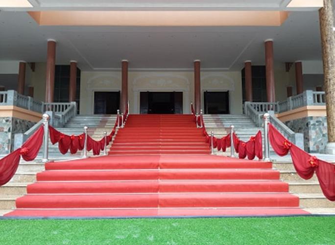 Công tác chuẩn bị Lễ viếng nguyên Tổng Bí thư Lê Khả Phiêu tại quê nhà Thanh Hóa - Ảnh 2.